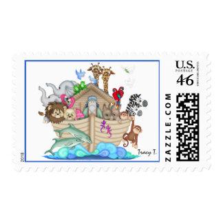 Noah's Ark - SRF Postage Stamp