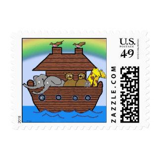 Noah's Ark - Stamp