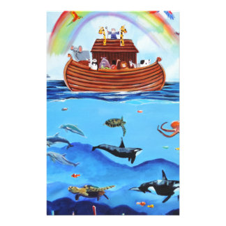 Noah's Ark Stationery