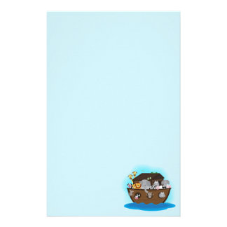 Noah's Ark Personalized Stationery