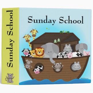Noah's Ark Sunday School Binder