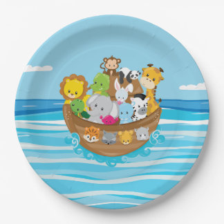 Noah's Ark Theme | Baby Animals Paper Plate
