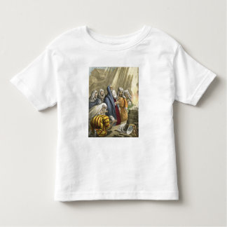Noah's Sacrifice on Leaving the Ark, from a bible Toddler T-shirt