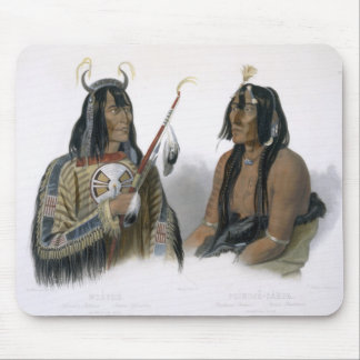 Noapeh, an Assiniboin Indian and Psihdja-Sahpa, a Mouse Pad