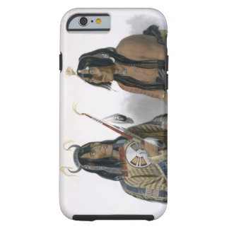 Noapeh, an Assiniboin Indian and Psihdja-Sahpa, a Tough iPhone 6 Case