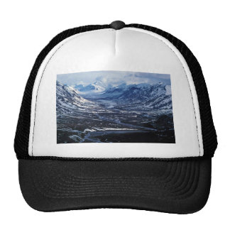 Noatak River and Glacial Valley - Aerial View Mesh Hat