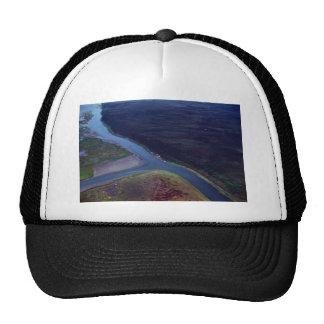 Noatak River Delta - Aerial View Hats