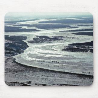 Noatak River in Winter Mousepads