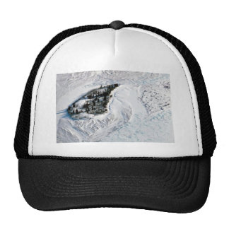 Noatak River Island - Aerial Winter View Hats