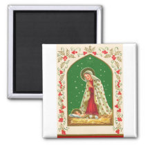 NOB165 Mary and Baby Jesus.tif Magnet