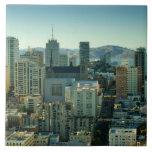Nob Hill, San Francisco Large Square Tile