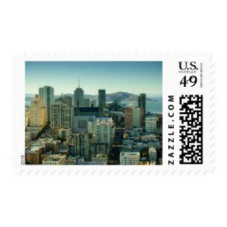 Nob Hill, San Francisco Postage Stamps