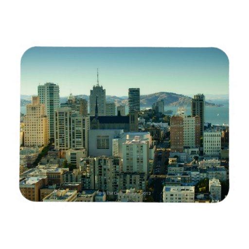 Nob Hill, San Francisco Rectangular Photo Magnet