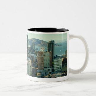 Nob Hill, San Francisco Two-Tone Coffee Mug