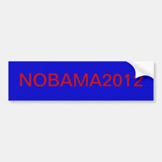NOBAMA2012 BUMPER STICKER