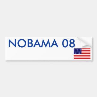 NOBAMA 08 BUMPER STICKERS