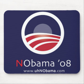 NObama 08 Election Mouse Pad