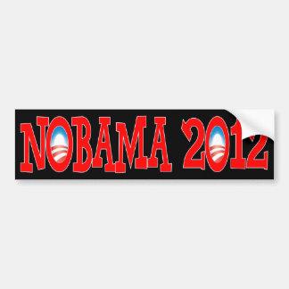 NOBAMA 2012 - Anti Obama Bumper Stickers