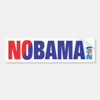 NOBAMA 2012 BUMPER STICKER