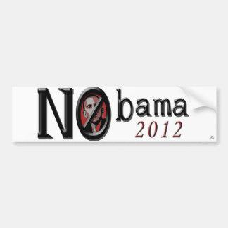 Nobama 2012 Bumper Sticker Car Bumper Sticker