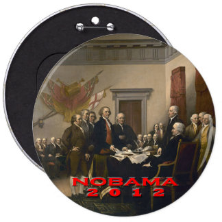 Nobama 2012 button