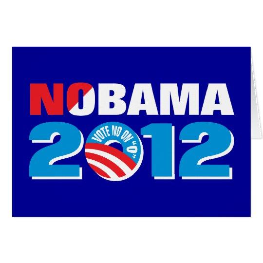 NOBAMA 2012 CARD