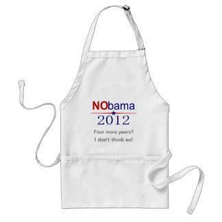 NObama 2012 election Adult Apron