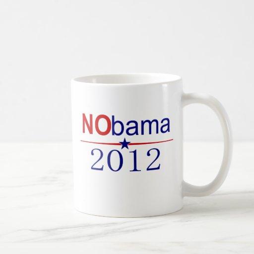 NObama 2012 election Classic White Coffee Mug