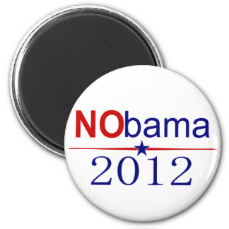 NObama 2012 election Magnet