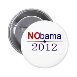 NObama 2012 election Pinback Button