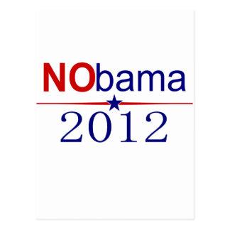 NObama 2012 election Postcard
