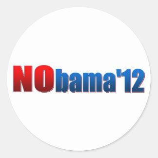 Nobama 2012 - No Obama Sticker