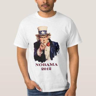 "NOBAMA 2012 ""tío Sam "" Camisas"