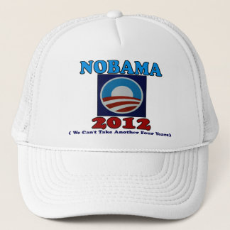 NOBAMA 2012 with Logo Trucker Hat