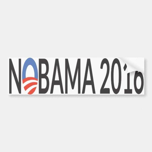 Nobama 2016 etiqueta de parachoque