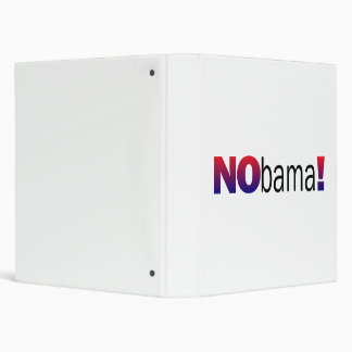 Nobama Anti-Obama Binder