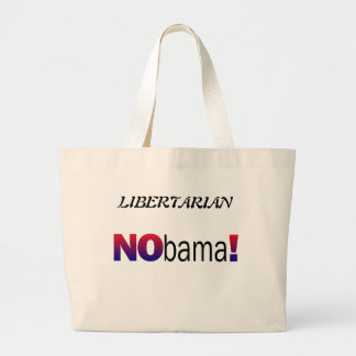 Nobama Anti-Obama Bolsas De Mano