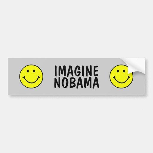 Nobama anti Obama Bumper Stickers