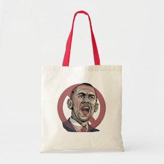 Nobama Anti Obama Circle Slash Gear Canvas Bag