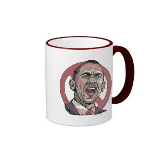 Nobama Anti Obama Circle Slash Gear Mug