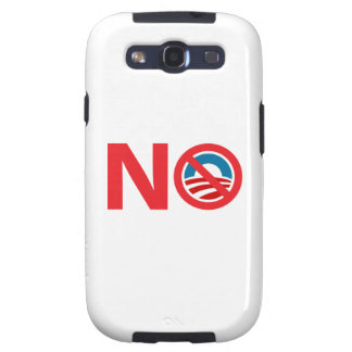 NObama Anti Obama Sign Samsung Galaxy S3 Cover