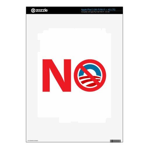 NObama Anti Obama Sign Skin For iPad 3