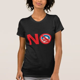 NObama Anti Obama Sign T-Shirt