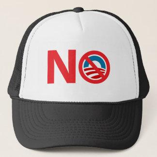 NObama Anti Obama Sign Trucker Hat
