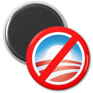 NOBAMA Anti Obama T shirts, Mugs, Hoodies 2 Inch Round Magnet
