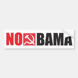 NoBama Car Bumper Sticker