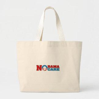 NObama Care Canvas Bags
