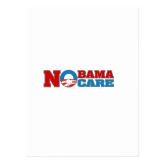 NObama Care Postcard