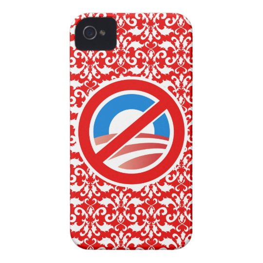 Nobama Damask iPhone 4 Case