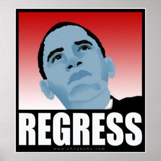 Nobama for President 08 Election Regress Poster